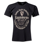 Guinness Gaelic Label T-Shirt (Black)