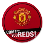 Manchester United Circular Car Sticker