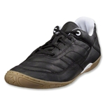 Pele Radium Stealth K Indoor Soccer Shoes (Black)