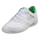 Pele Sports Septembro Indoor Soccer Shoes (White Running)
