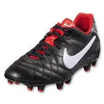 Nike Tiempo Natural IV LTR FG (Black/White)
