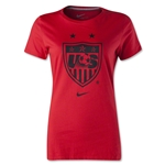 USA Women's T-Shirt USWNT Logo