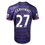 Arsenal 12/13 GERVINHO Away Soccer Jersey
