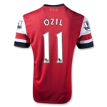 Arsenal 12/14 OZIL Home Soccer Jersey
