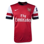 Arsenal 12/14 FA Cup Home Soccer Jersey