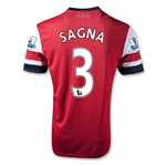 Arsenal 12/14 SAGNA Home Soccer Jersey