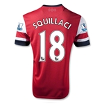 Arsenal 12/14 SQUILLACI Home Soccer Jersey