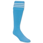 365 Inc Three-Stripe Sock (Sk/Wh)