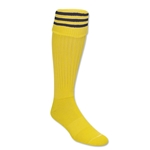 Three-Stripe Socks (Yellow/Black)