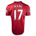 Manchester United 12/13 NANI Youth Home Soccer Jersey