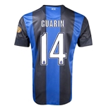 Inter Milan 12/13 GUARIN Home Soccer Jersey