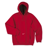 Nike Team Tech Fleece Hoody (Red)
