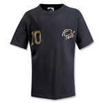 Pele Sports #10 Youth T-Shirt (Black)