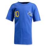 Pele Sports #10 Youth T-Shirt (Royal)