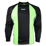 reusch Barcelona II LS Goalkeeper Jersey (Black/Lime)
