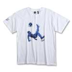 Pele Sports Youth Bike Kick T-Shirt (White)