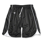 Warrior Liberty Game Lacrosse Shorts (Blk/Wht)