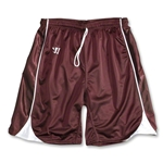 Warrior Liberty Game Lacrosse Shorts (Maroon/Wht)