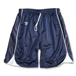 Warrior Liberty Game Lacrosse Shorts (Navy/White)