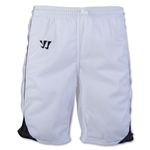 Warrior Liberty Game Lacrosse Shorts (Wh/Bk)