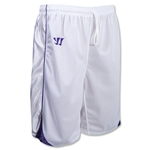 Warrior Liberty Game Lacrosse Shorts (Wh/Pu)