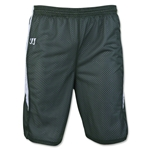 Warrior Fusion Reversible Game/Practice Lacrosse Shorts (Dk Gr/Wht)