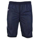 Warrior Fusion Reversible Game/Practice Lacrosse Shorts (Navy/White)