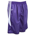 Warrior Fusion Reversible Game/Practice Lacrosse Shorts (Pur/Wht)