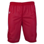 Warrior Fusion Reversible Game/Practice Lacrosse Shorts (Sc/Wh)