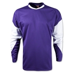 Warrior Orion Long Sleeve Shooters Shirt (Pur/Wht)
