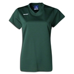 Brine Women's Essence Cap Sleeve Lacrosse Jersey (Dark Green)