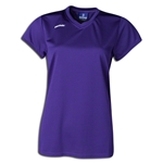 Brine Women's Essence Cap Sleeve Lacrosse Jersey (Purple)