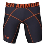 Under Armour HeatGear Core Short Lite (Blk/Orange)