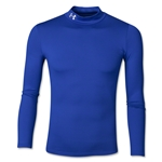 Under Armour Youth EVO Coldgear Fitted Mock (Royal)