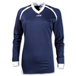Brine Women's Radiance Shooter's Lacrosse Shirt (Navy/White)