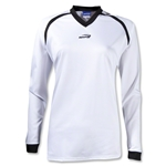 Brine Women's Radiance Shooter's Lacrosse Shirt (Wh/Bk)