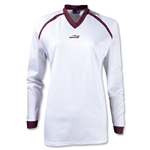 Brine Women's Radiance Shooter's Lacrosse Shirt (Wh/Ma)