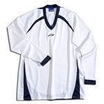 Brine Women's Radiance Shooter's Lacrosse Shirt (Wh/Nv)