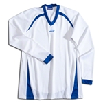 Brine Women's Radiance Shooter's Lacrosse Shirt (Wh/Ro)