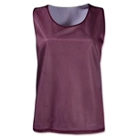 Warrior Women's Mesh Reversible Jersey (Maroon/Wht)