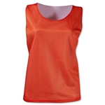 Warrior Women's Mesh Reversible Jersey (Org/Wht)