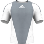miadidas 7's Basic TF Custom Jersey (Gray-Set of 22)