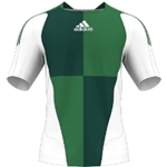 miadidas 7's Harlequin SF Custom Jersey (Green-Set of 22)