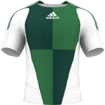 miadidas 7's Harlequin TF Custom Jersey (Green-Set of 22)