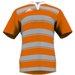 miadidas Union Hoops TF Custom Jersey (Orange/Gray-Set of 22)