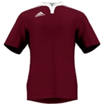 miadidas Union Basic SF Custom Jersey (Cardinal-Set of 22)