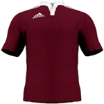 miadidas Union Basic TF Custom Jersey (Cardinal-Set of 22)