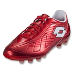 Lotto Futura 500 FG Soccer Shoes (Risk Red/White)