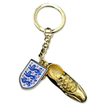 England Golden Boot Keyring