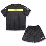 Joma Academy Long Sleeve Soccer Kit (Black/Yellow)